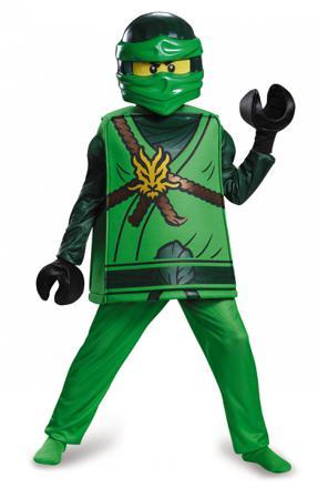 déguisement lego ninjago vert