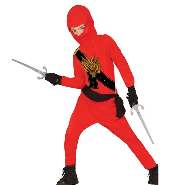 deguisement ninja rouge