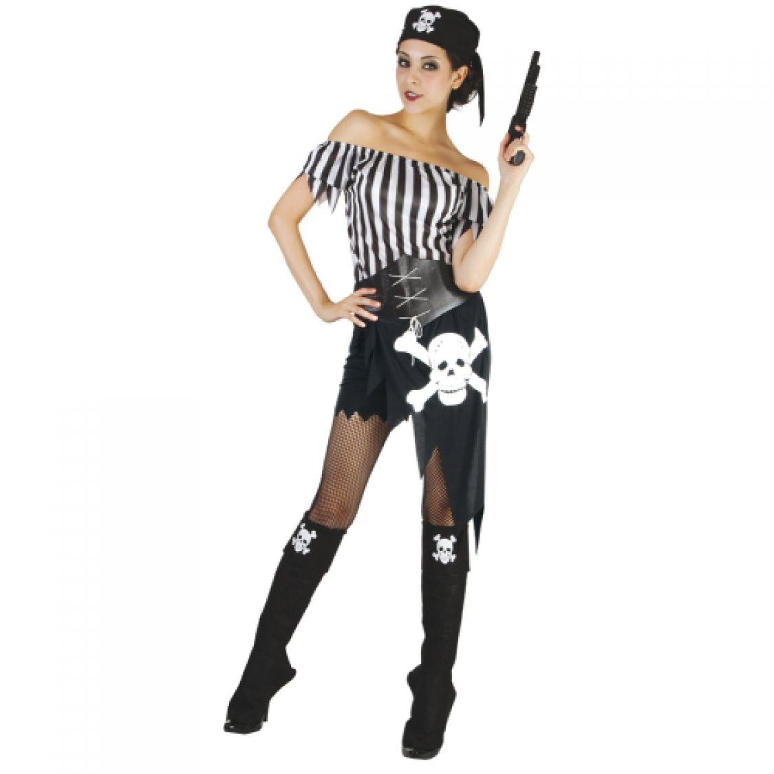 déguisement pirate femme maison