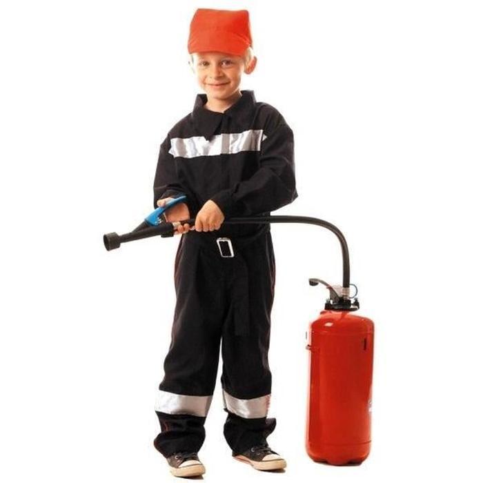 déguisement pompier 4 ans