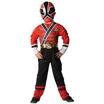 deguisement power ranger samurai rouge