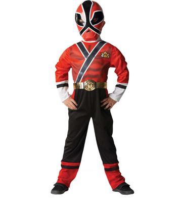 déguisement power rangers samurai doré