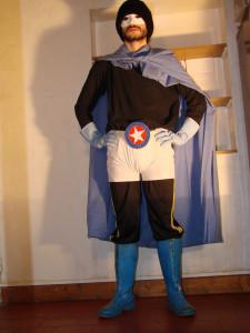 déguisement super héros maison