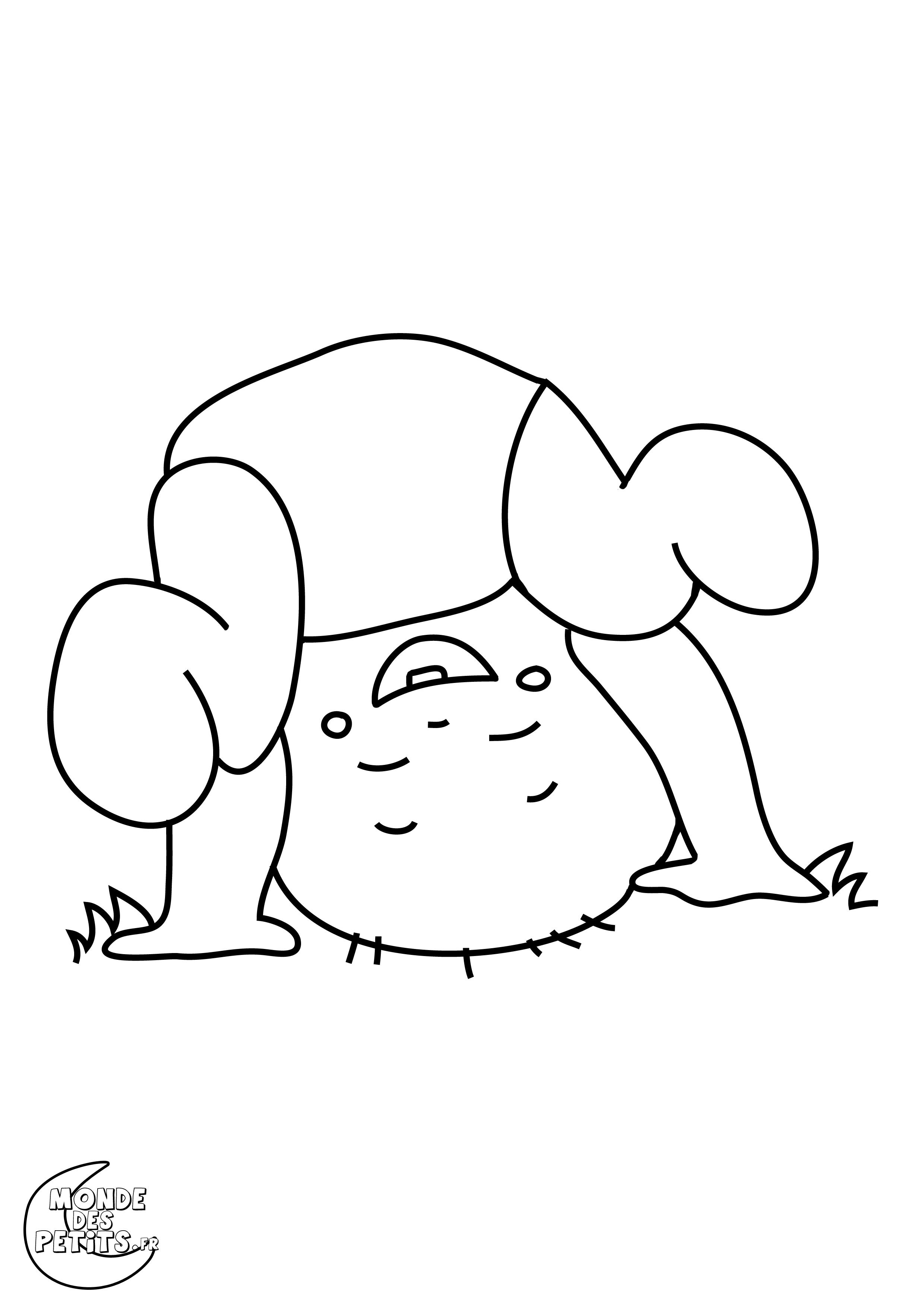 dessin bébé rigolo
