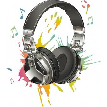 dessin casque audio