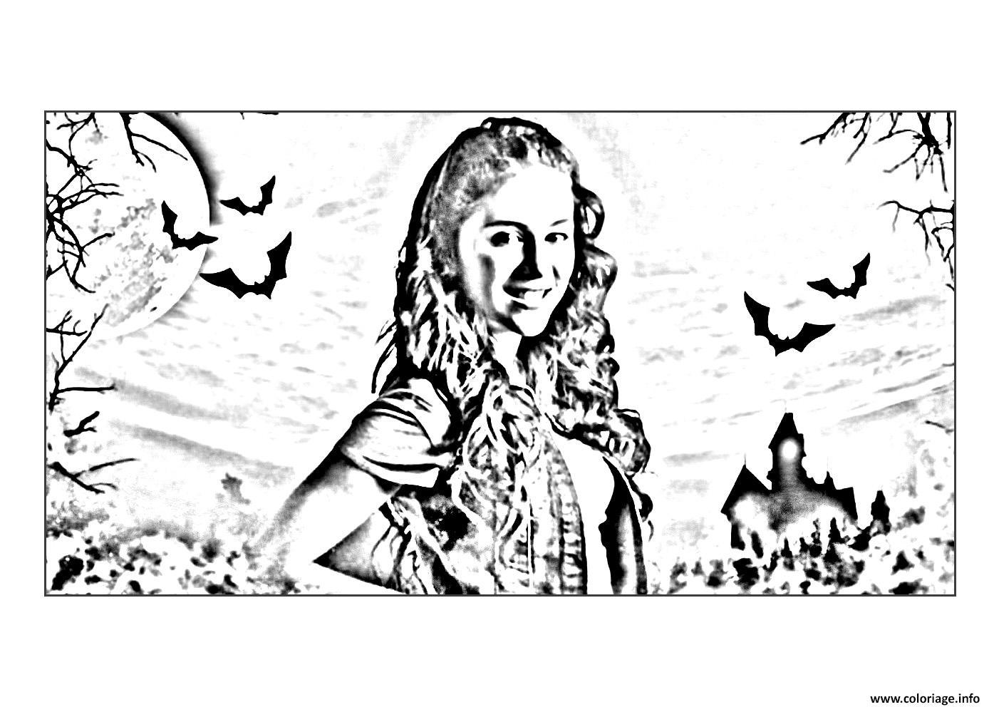 dessin chica vampiro