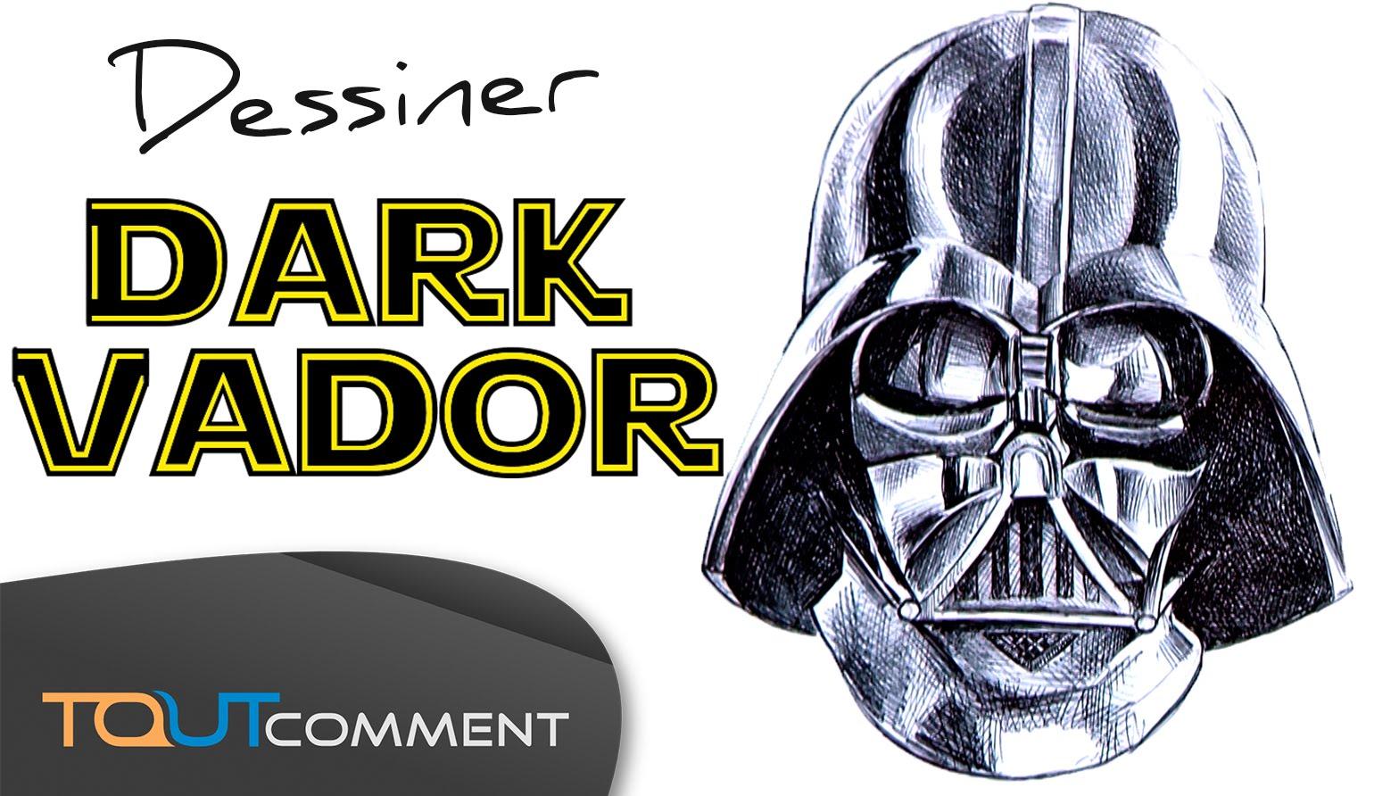 dessin dark vador