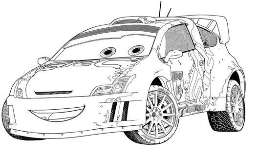 dessin de cars 2