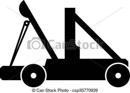 dessin de catapulte