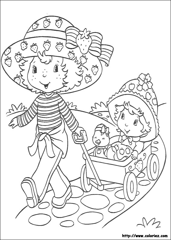 dessin de charlotte au fraise