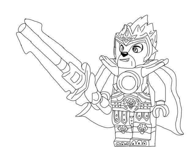 dessin de lego chima