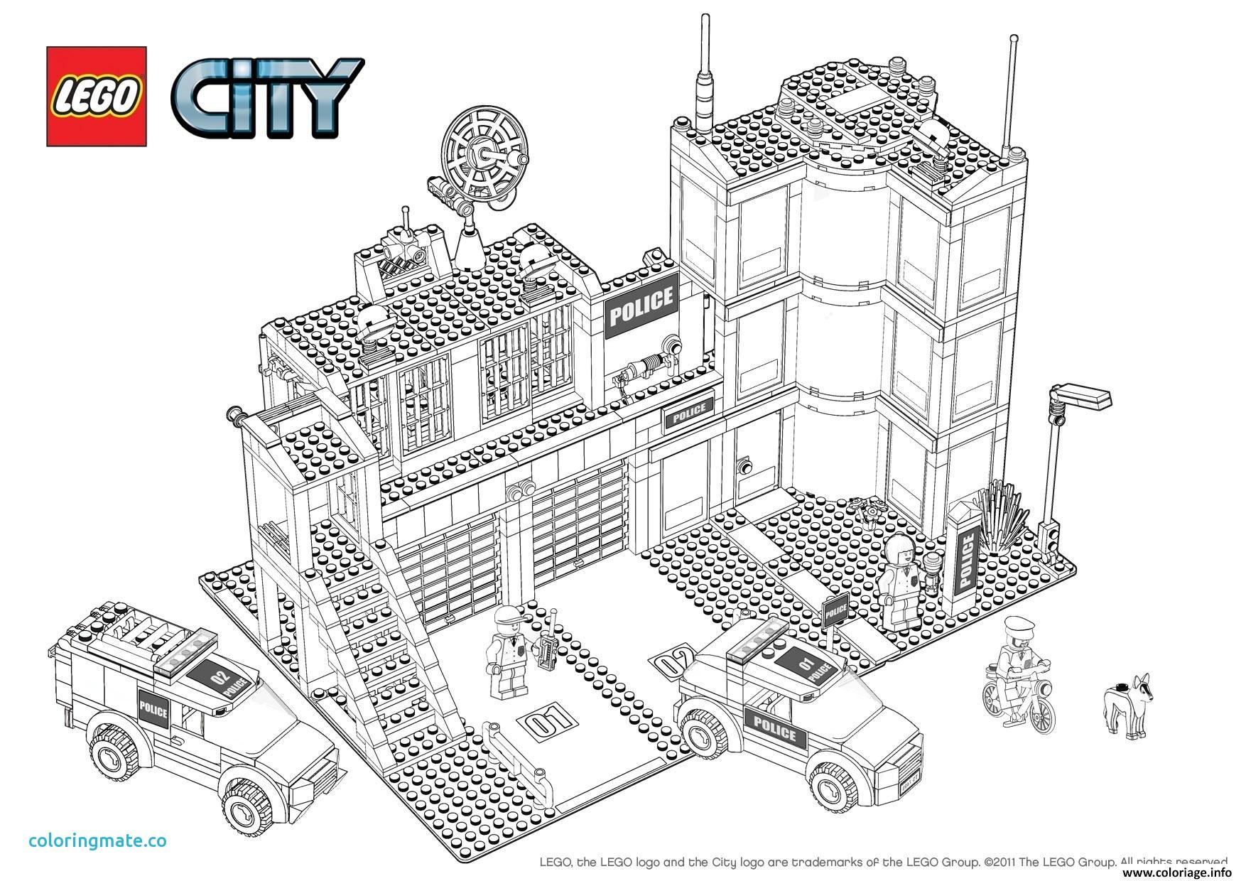 dessin de lego city