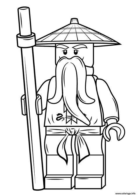 dessin de lego ninjago