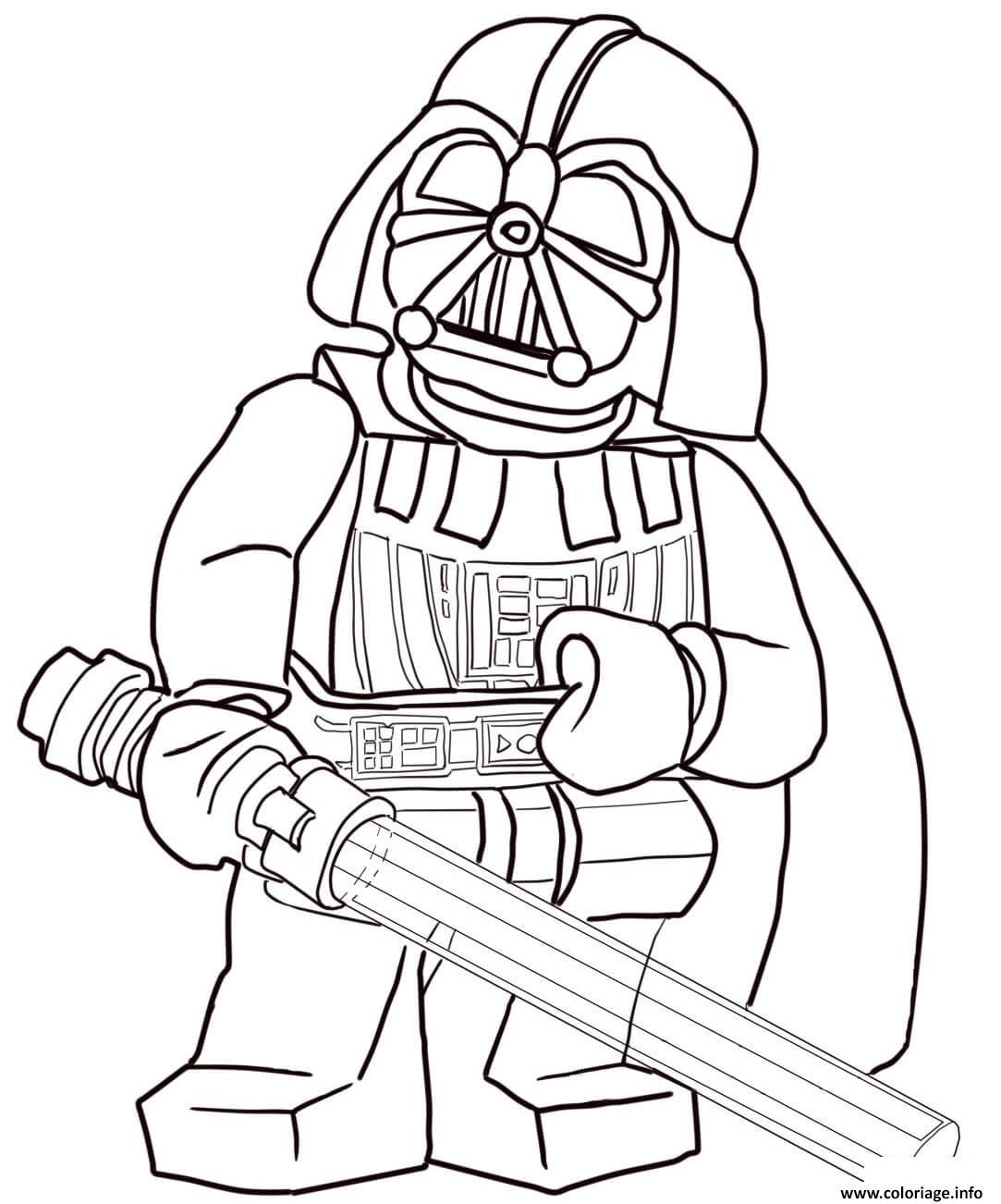 dessin de lego star wars