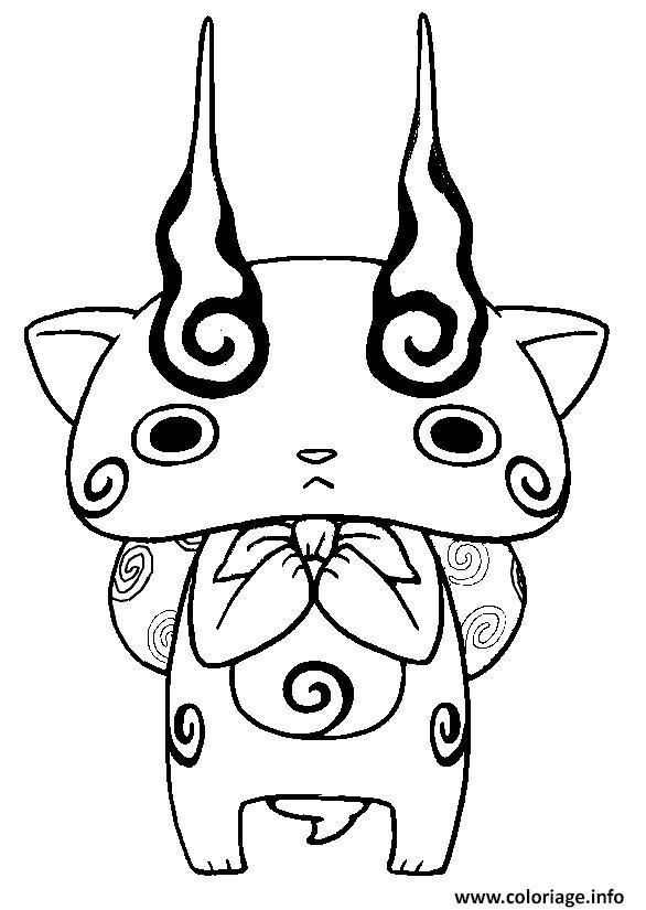 dessin de yo kai watch