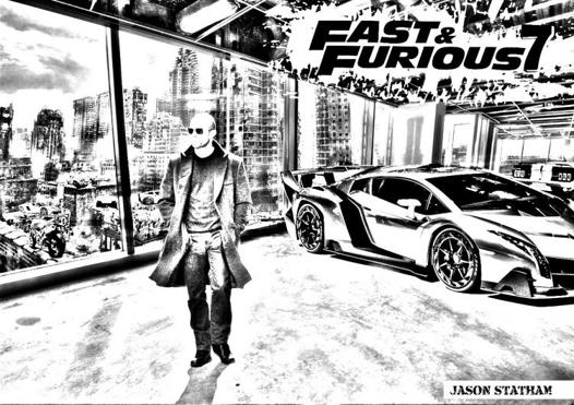dessin fast and furious