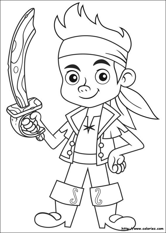 dessin jack et les pirates