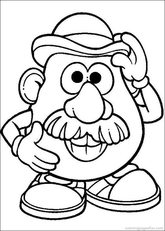 dessin monsieur patate