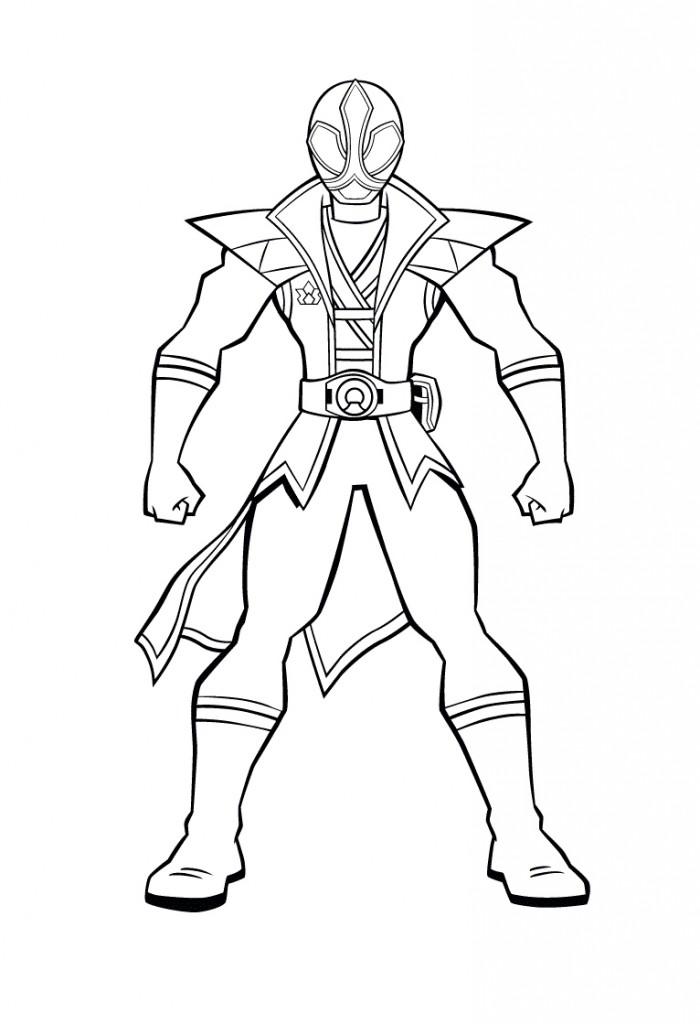 dessin power rangers samurai