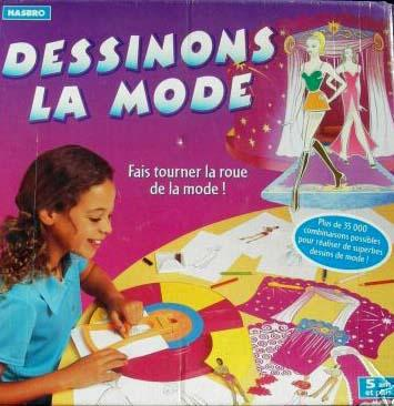 dessiner la mode jouet