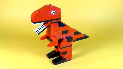 dinosaure en lego