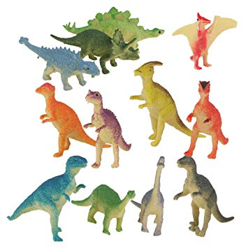dinosaure en plastique