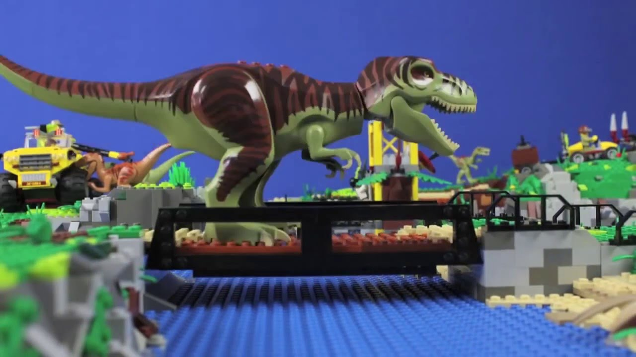 dinosaure lego video