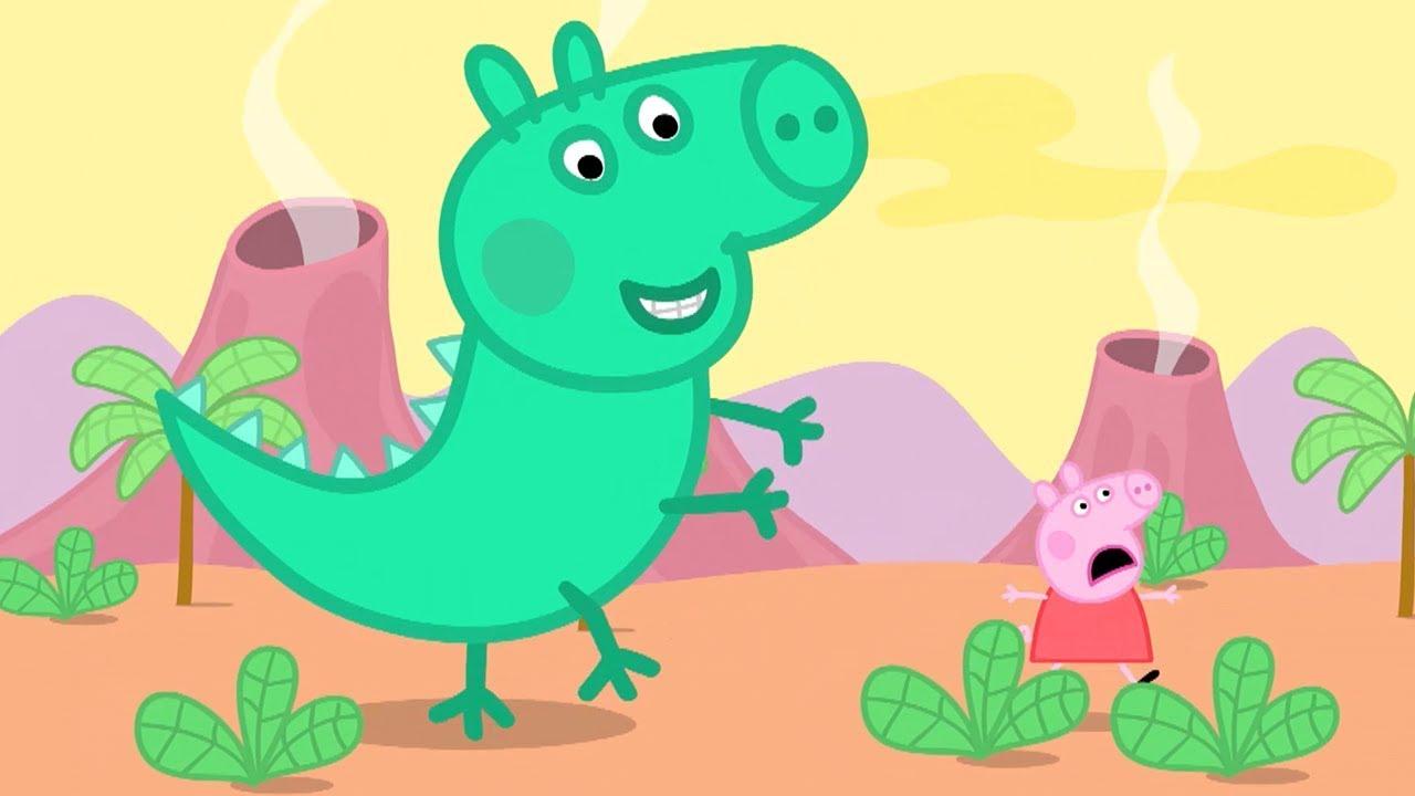 dinosaure peppa pig