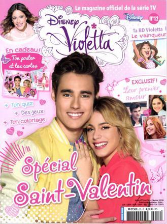 disney violetta magazine