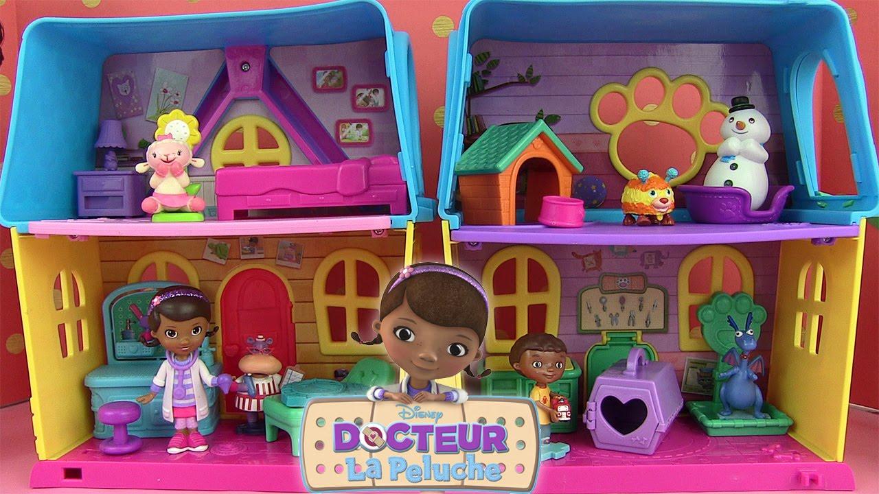 docteur peluche jouet