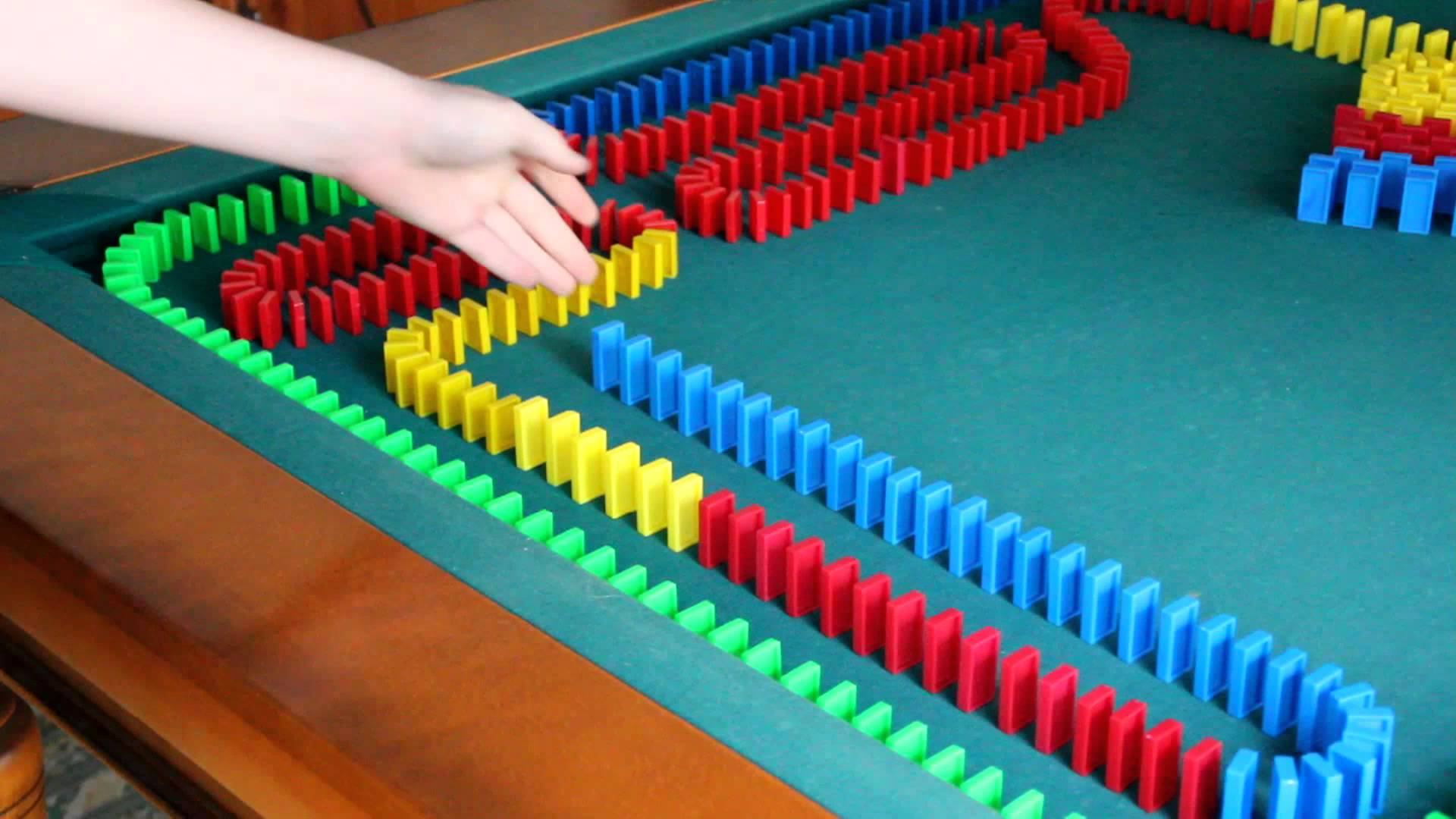 domino parcours