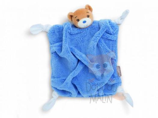 doudou kaloo ours bleu