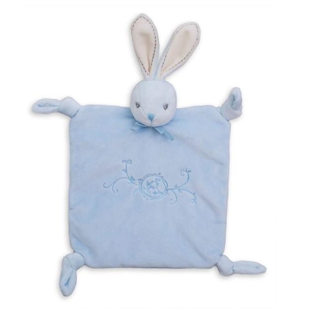 doudou lapin kaloo bleu
