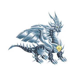 dragon de métal