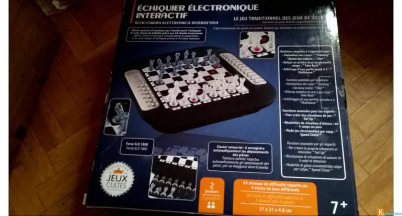 echiquier electronique interactif