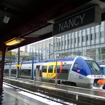 epinal nancy train