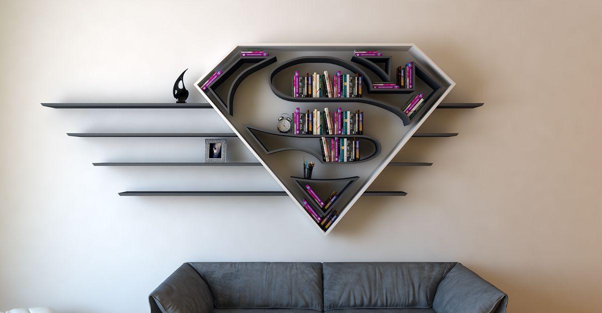 etagere superman