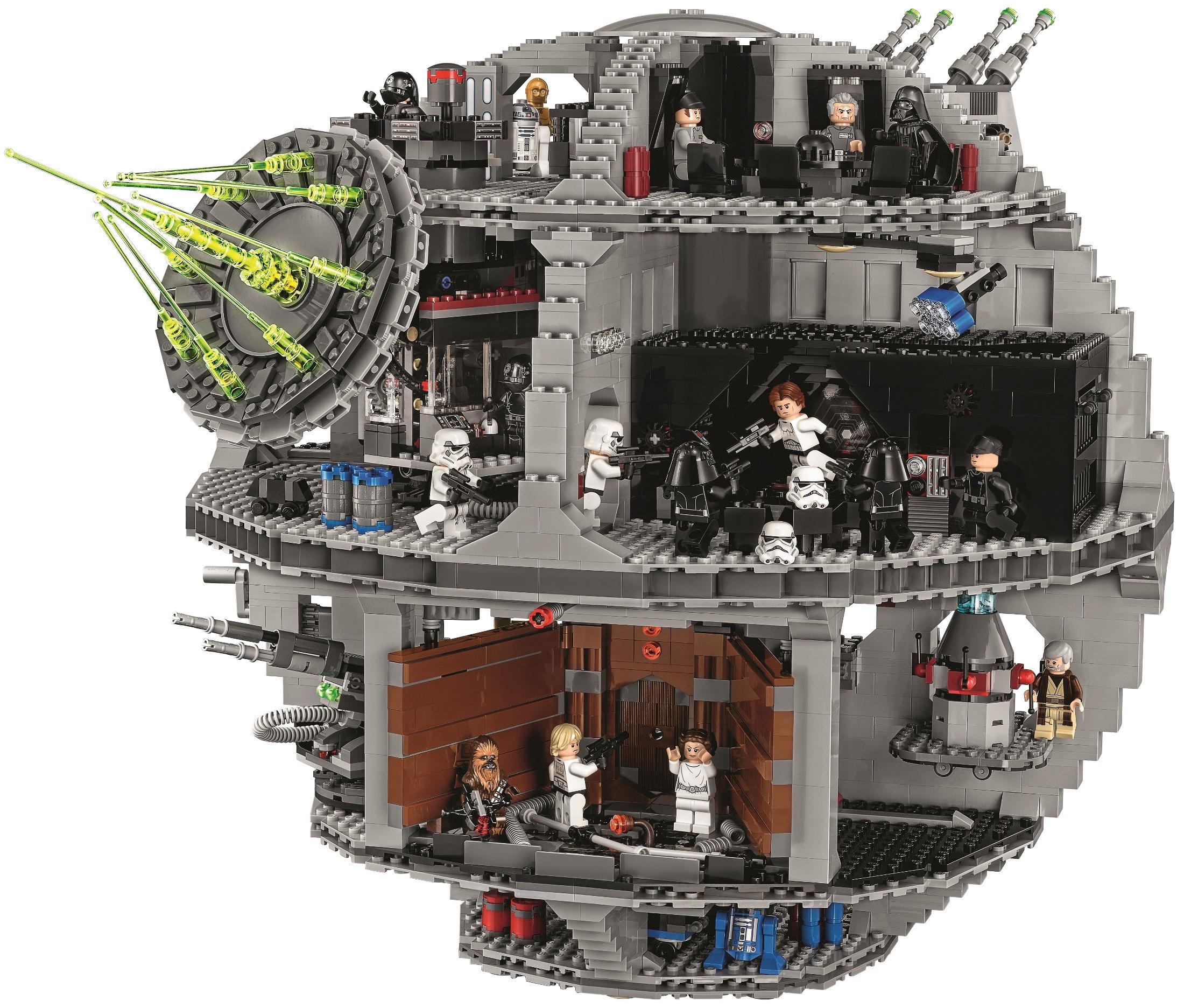 etoile noire lego