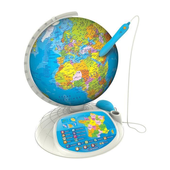 exploraglobe le globe intéractif