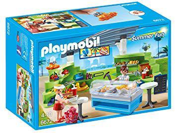 fast food playmobil