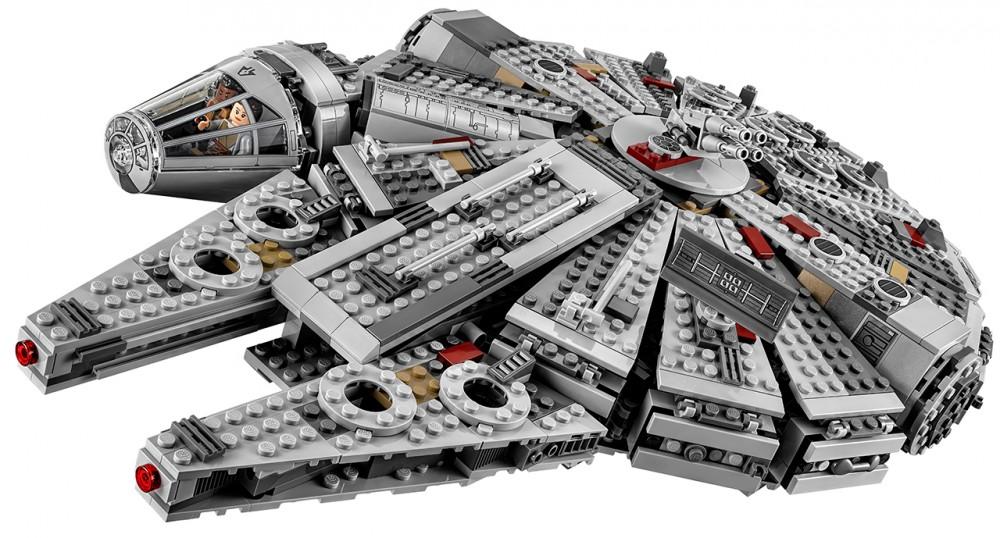 faucon millenium star wars lego