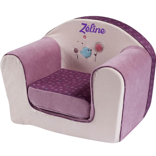 fauteuil bebe avec prenom
