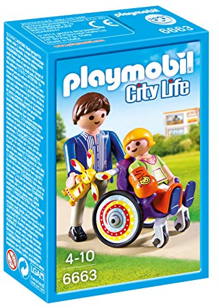 fauteuil roulant playmobil