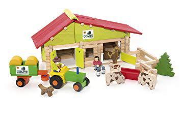 ferme jouet avec animaux