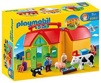 ferme transportable playmobil 123