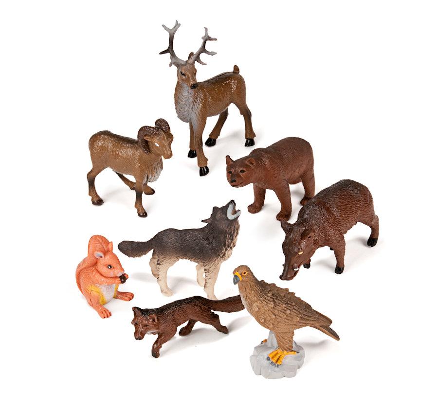 figurine animaux de la foret