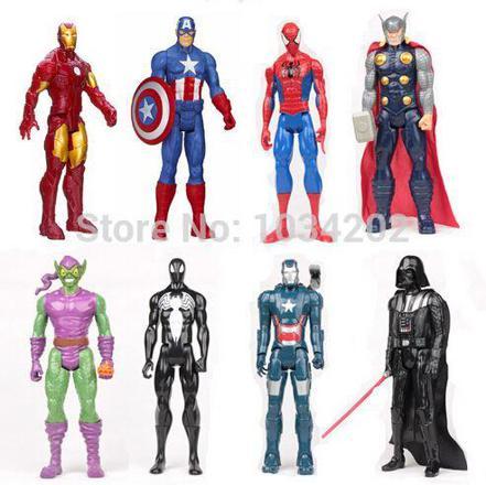 figurine avengers 30 cm