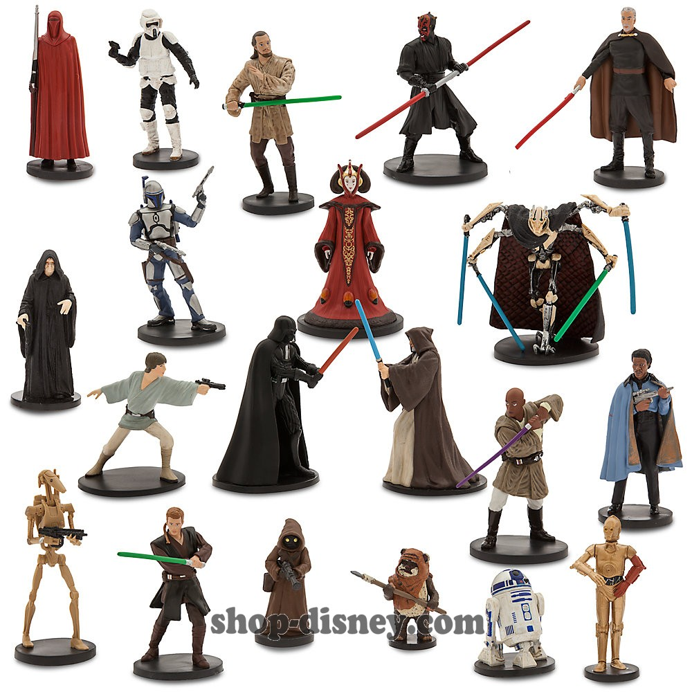 figurine de star wars