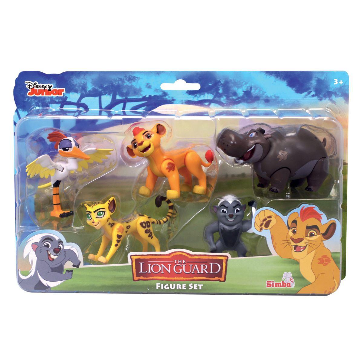 figurine la garde du roi lion