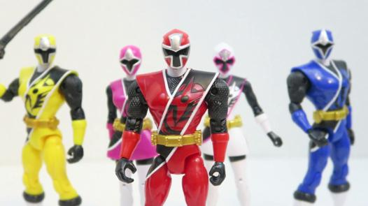 figurine power rangers ninja steel